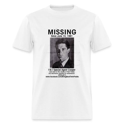 MISSING COOPER T-SHIRT - Men's T-Shirt