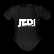Baby Bodysuits ~ Baby Short Sleeve One Piece ~ Jedi Baby One Piece