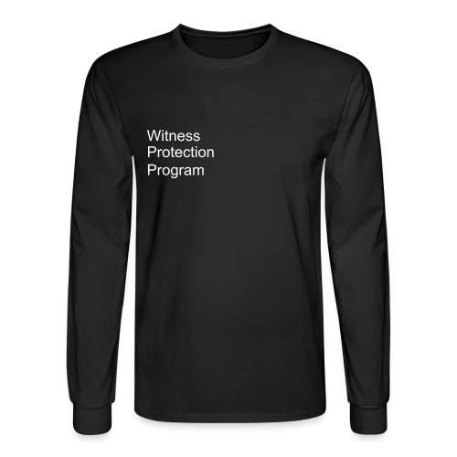 Witness Protection Program - Men's Long Sleeve T-Shirt