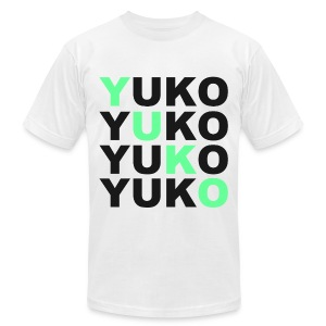 SWAG YUKO White - Men's T-Shirt by American Apparel