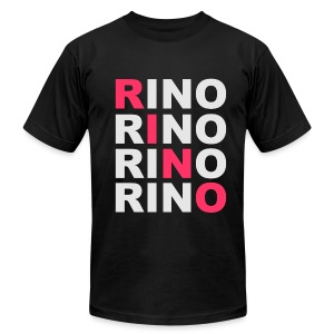 SWAG RINO Black - Men's T-Shirt by American Apparel