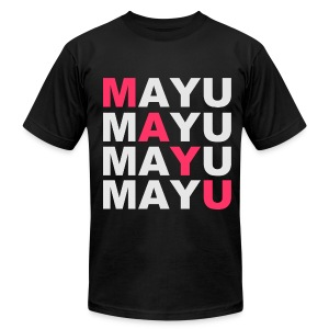 SWAG MAYU Black - Men's T-Shirt by American Apparel