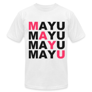 SWAG MAYU White - Men's T-Shirt by American Apparel