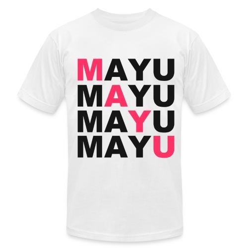 SWAG MAYU White - Men's Fine Jersey T-Shirt