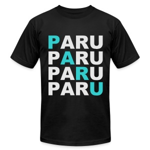 SWAG PARU Black - Men's T-Shirt by American Apparel