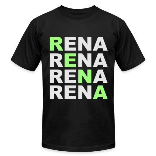 SWAG RENA Black - Men's Fine Jersey T-Shirt