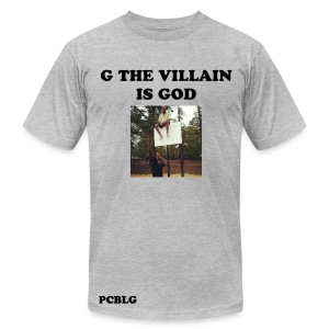G The Villain T-shirt - Men's T-Shirt by American Apparel