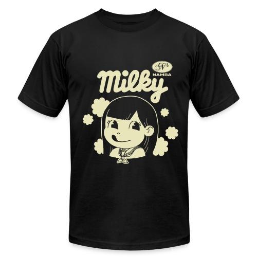 Milky Candy Black - Men's Fine Jersey T-Shirt