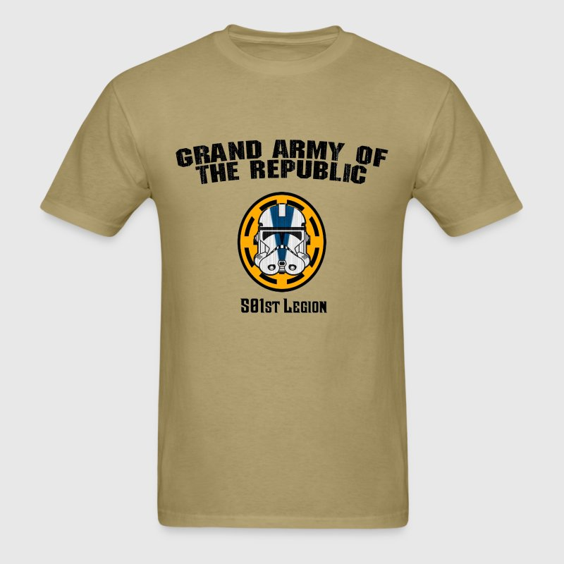 Star Wars 501st legion Military t shirt T-Shirts - Men's T-Shirt