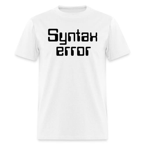 Error - Men's T-Shirt
