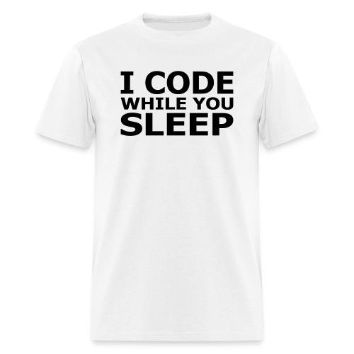 I code - Men's T-Shirt