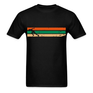 Running with Strips Design - Tshirt - Men's T-Shirt