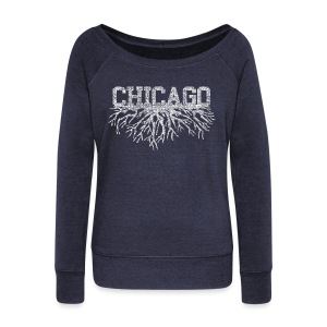 My Chicago Roots - Women's Wideneck Sweatshirt