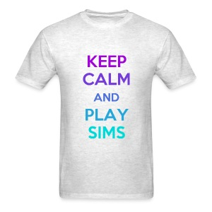 KEEP CALM and PLAY SIMS - Men's T-Shirt