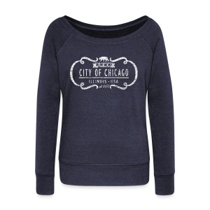 The One and Only Chicago - Women's Wideneck Sweatshirt