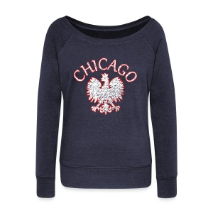 Polish Eagle Chicago - Women's Wideneck Sweatshirt