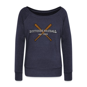 Southside Baseball est. 1884 - Women's Wideneck Sweatshirt