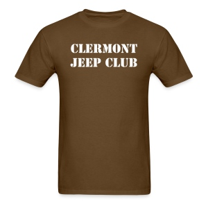 Clermont Jeep Club Hummer Recovery - Men's T-Shirt