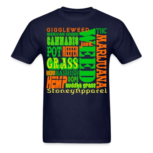MENS new Stoney Apparel Tshirts - Navy - Men's T-Shirt