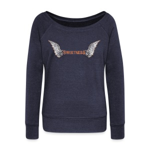Sweetness Angel - Women's Wideneck Sweatshirt
