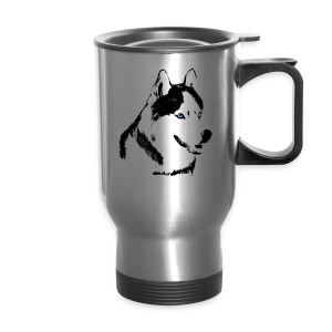 Siberian Husky Travel Mug Husky / Malamute Cups & Gifts - Travel Mug
