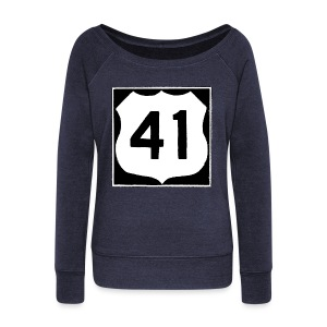 US Rte. 41 LSD - Women's Wideneck Sweatshirt