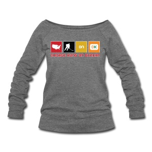 Chicago Runs On Duncan - Women's Wideneck Sweatshirt