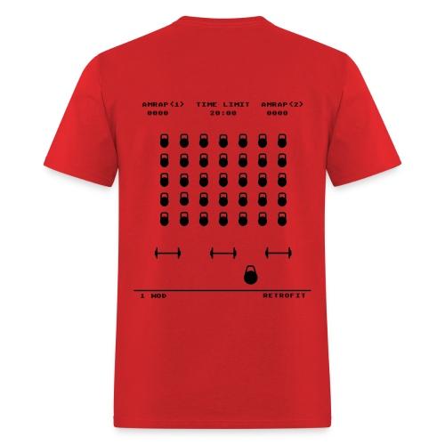 Kettlebell Invaders - Men's T-Shirt