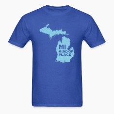 MI kind of place (blue) T-Shirts