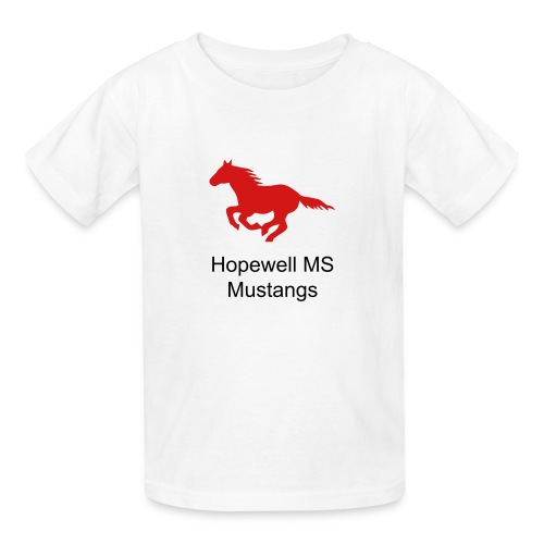 Youth Sizes Hopewell MS Mustangs - Kids' T-Shirt