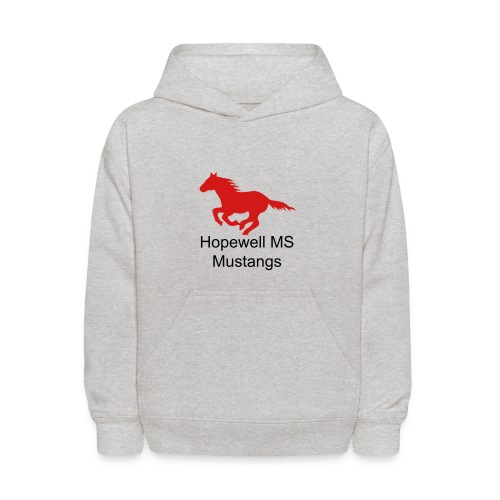 Youth Sizes Hopewell MS Mustangs Hooded Sweatshirt - Kids' Hoodie