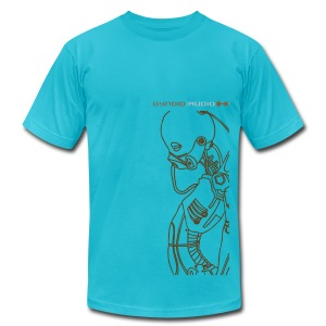 Gynoid Audio Alien - Men's T-Shirt by American Apparel
