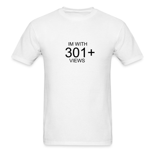 Im with 301+ Viewers - Men's T-Shirt