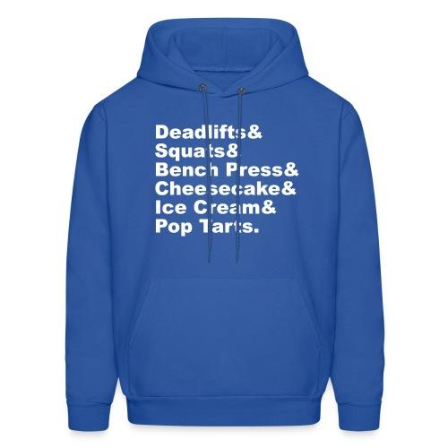 Men's Hoodie - iifym t-shirts,iifym shirts,iifym clothes,iifym apparel,flexible dieting t-shirts