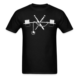More Weight - Gladii, Flail, Barbell - Men's T-Shirt