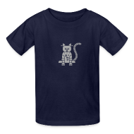 Kids' Shirts ~ Kids' T-Shirt ~ Sparkle Catbot - Kid
