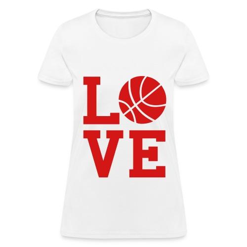 Love ball - Women's T-Shirt