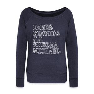 This Shirt is Good Times - Women's Wideneck Sweatshirt