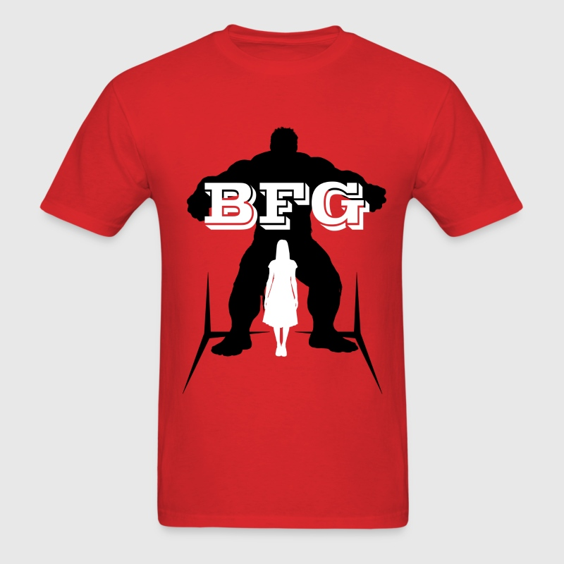 BFG Female Shadow (Big Friendly Giant) T-Shirts - Men's T-Shirt
