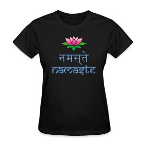 Women's Namaste dark T-Shirt - Women's T-Shirt