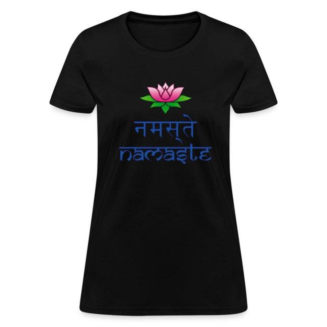 "Women's ""Namaste"" T-Shirt"
