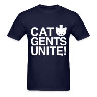 T-Shirts ~ Men's T-Shirt ~ Cat Gents Unite!