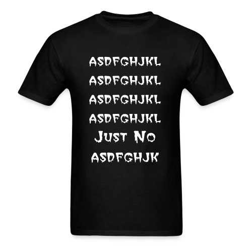 asdfghjkl T-Shirt (mens) - Men's T-Shirt