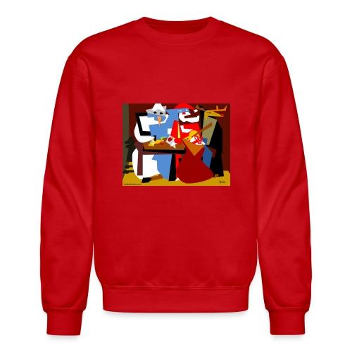 Picasso Christmas Sweatshirt - Crewneck Sweatshirt