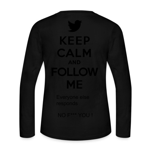 Follow Me - Women's Long Sleeve Jersey T-Shirt