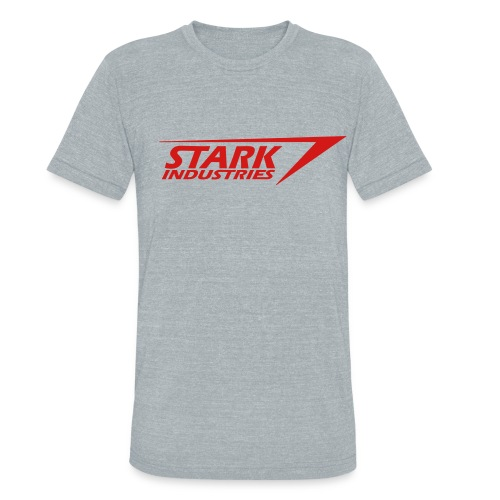 Stark Industries 2 Triblend Grey Mens - Unisex Tri-Blend T-Shirt