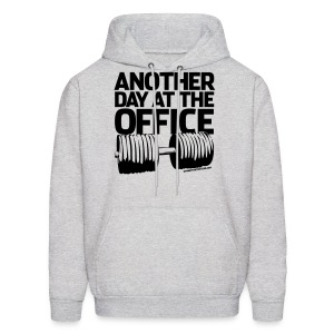 Another day at the office | Mens hoodie - Men's Hoodie