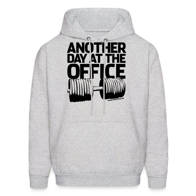 Another day at the office | Mens hoodie