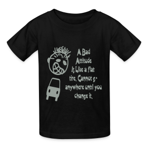 A bad attitude.. - Kids' T-Shirt