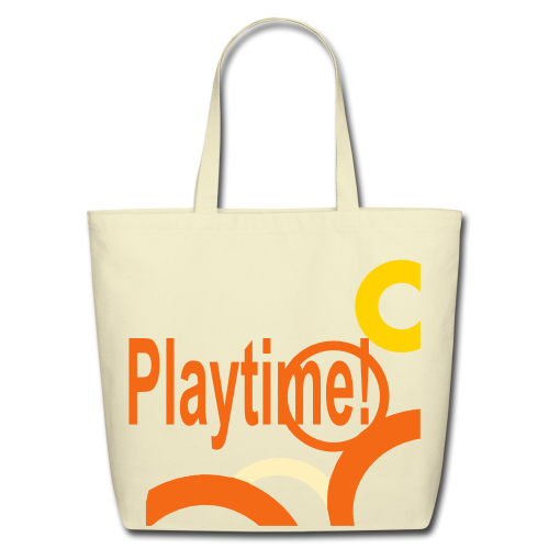 Playtime - Eco-Friendly Cotton Tote